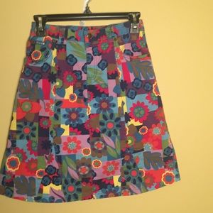 Other - Fun Floral Skirt